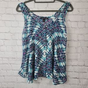 Happening in the Present tank. Womens M